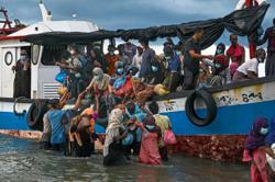 Rohingya describe high-seas terror