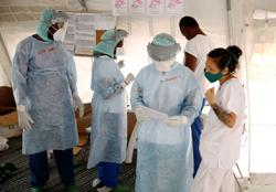 In Haiti, coronavirus spreads in slums, showing challenge for Latin America
