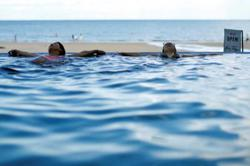 Indonesia allows people to swim amid Covid-19 'new normal'