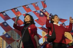 Taiwan opposition occupies parliament to protest government 'tyranny'
