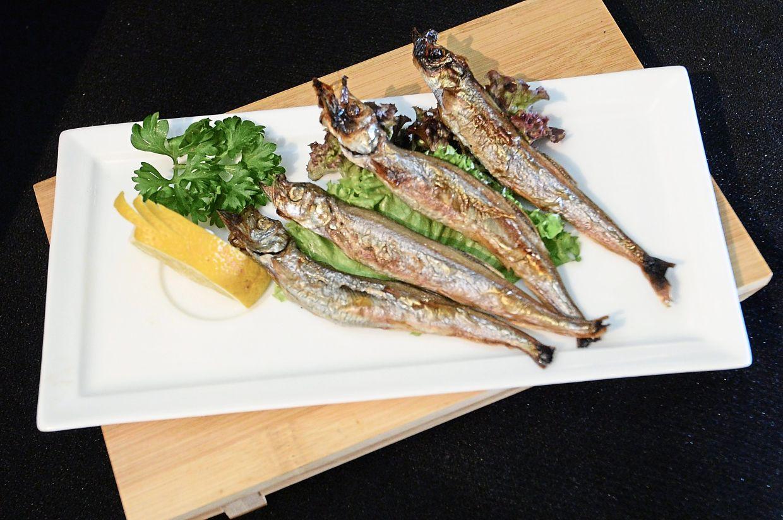 Grilled Japanese Shishamo Fish