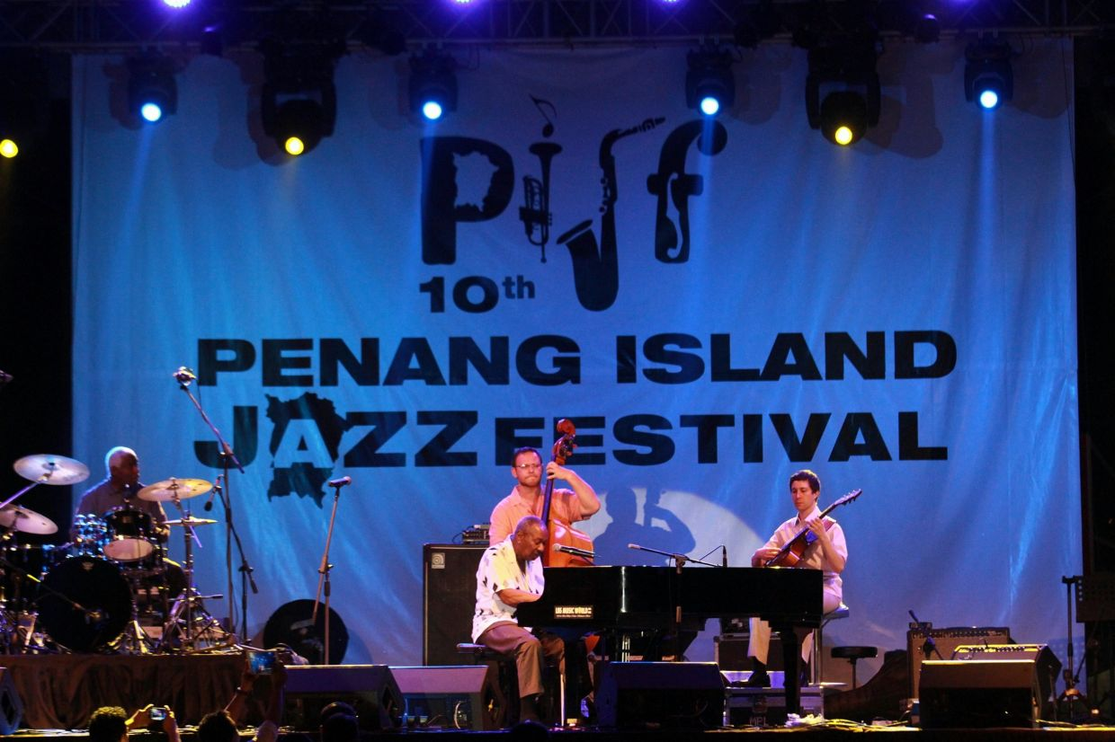 The Freddy Cole Quartet performance at 10th Penang Island Jazz Festival in December 2013. Is the PIJF making a return this year? Photo: Filepic