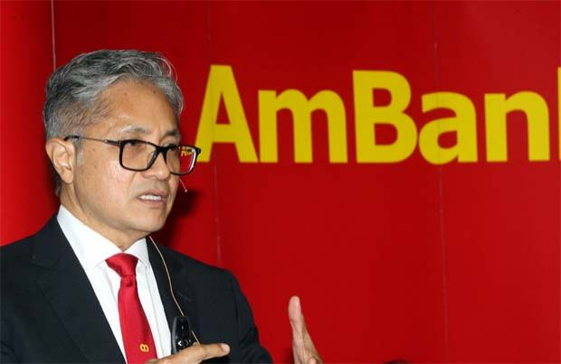 """""""I do empathise with the public and the loans moratorium had helped a lot businesses and individuals. The environment is quite different pre and post-movement control order (MCO) now, """" AMMB group CEO Datuk Sulaiman Tahir (pic) told a virtual press conference to announce its results here."""