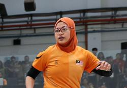 No national team place, no problem for Nazihah