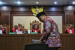 Indonesian former sports minister sentenced to seven years for graft