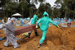 Brazil coronavirus death toll nears 60,000, confirmed cases top 1.4 million