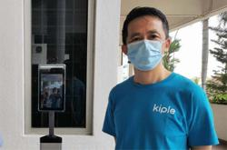 KipleLive contactless and face recognition platform ideal for large events