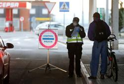 Spain, Portugal open border to tourism after three-month coronavirus closure