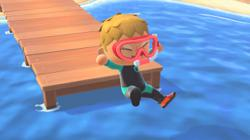 'Animal Crossing: New Horizons' with swimming and diving comes at the right time