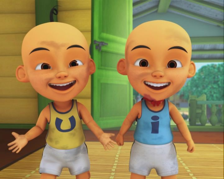 The popularity of 'Upin & Ipin' skyrocketed after it aired on YouTube. Photo: Handout