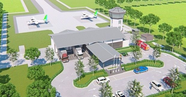 The Bebuling Airport in Spaoh, Betong will boost the transportation of agricultural produce for export.