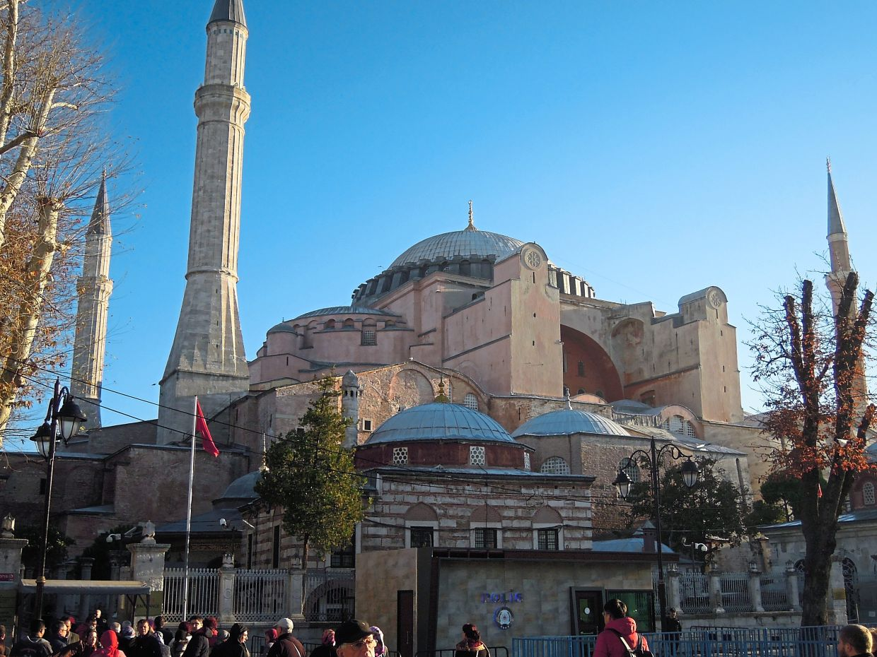 Hagia Sophia is a Unesco World Heritage site and is listed as among the seven wonders of the medieval world.