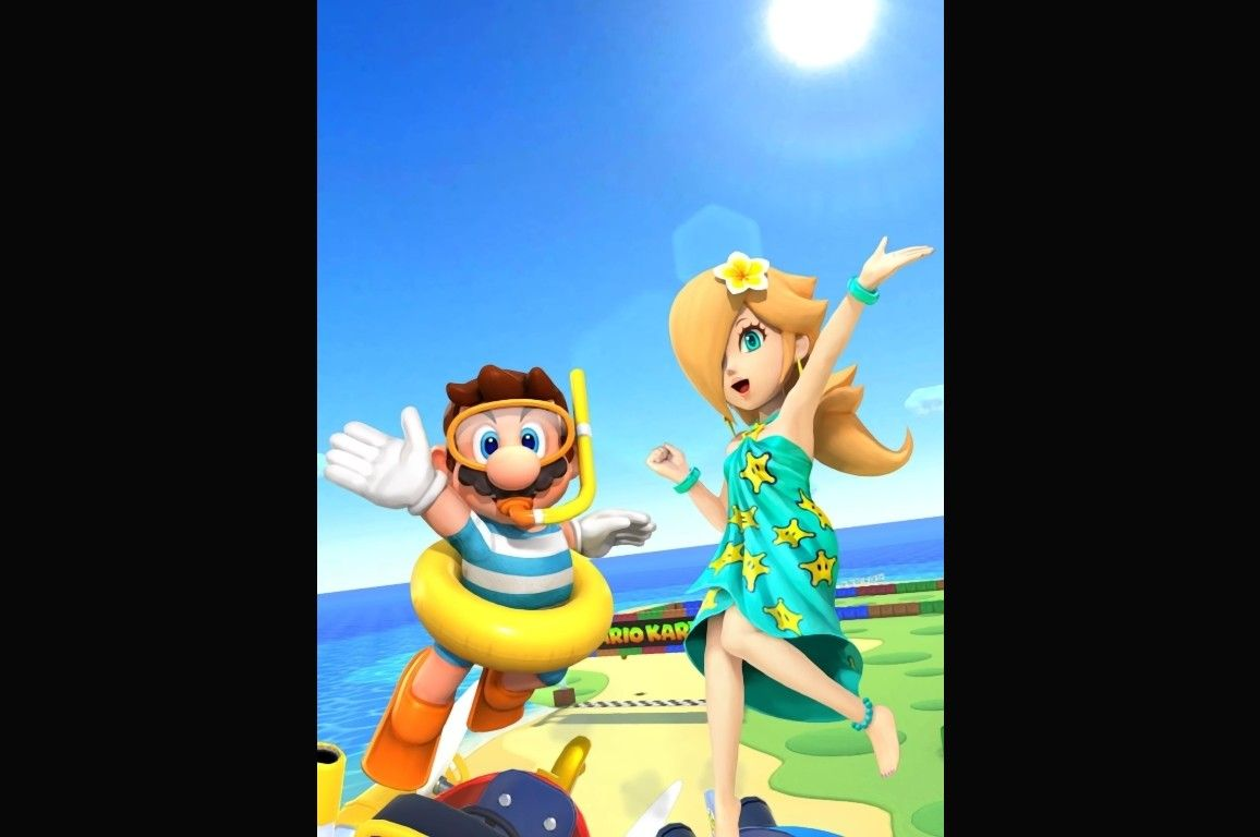 Mario Kart Tour Cools Off With Marine Tour Update The Star