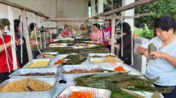 Low-key dumpling festival