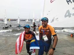 Sailor Khairulnizam regains his sea legs