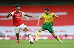Aubameyang nets 50th Premier League goal as Arsenal thump Norwich