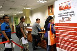 MyEG foreign worker employment pass renewal job extended