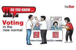 Do you know... Voting in the new normal