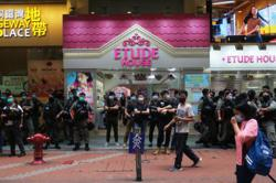 Hong Kong govt condemns violence, supports police law enforcement