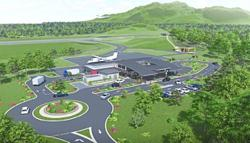 Plans for two new rural airports