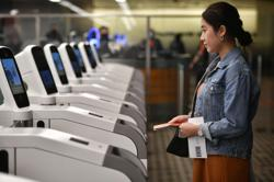 Eye and face scans part of touch-free travel at Changi Airport