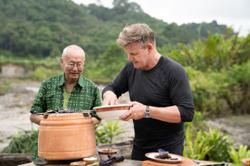 Gordon Ramsay in a rendang showdown with Indonesian celebrity chef