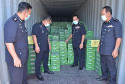 Sabah cops seize more than RM1.9mil worth of smuggled alcohol in series of raids