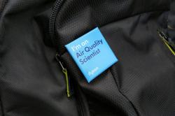 Backpack volunteers gather data showing pollution rising after lockdowns
