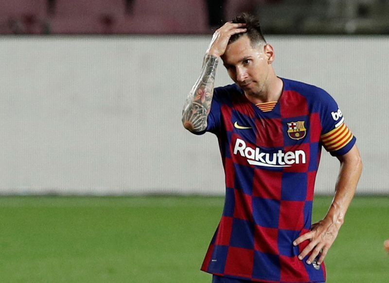 Football Messi Unwilling To Renew Barca Contract Report The Star