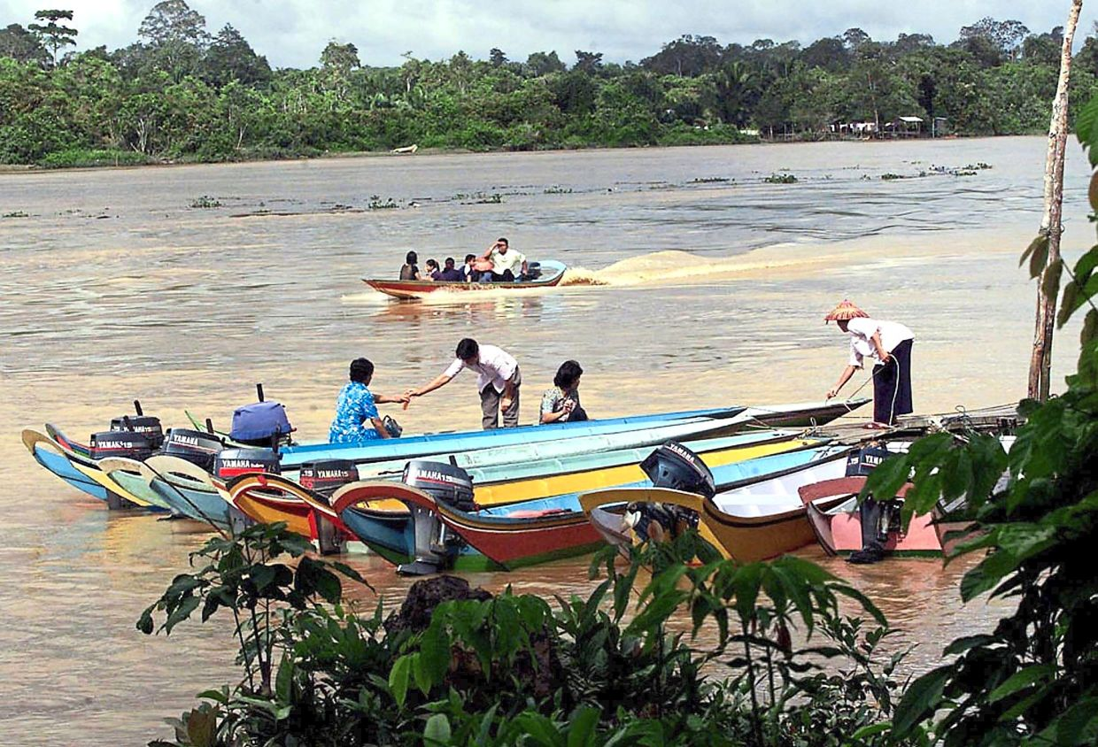 Many Sarawakians live in isolated interior areas that are linked mainly by boat, making them one of the clinically vulnerable groups to Covid-19.