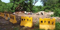 MPSJ seals entry to illegal dumpsite