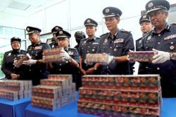 30.1 million contraband ciggies seized at North Port