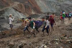 Death toll of massive landslide in Myanmar rises to 146
