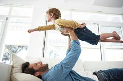 Playing around with dad teaches emotional control