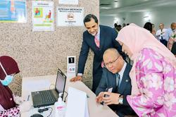 Brunei MoH launches cashless transactions
