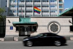 Putin mocks U.S. embassy for flying rainbow flag