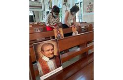 Praying with saints: Church of the Immaculate Conception reopens doors for Sunday mass