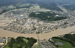 Japan evacuates thousands as rains lash southern Kyushu