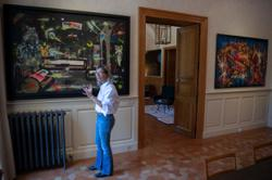 Legendary New York graffiti artists showcased in lavish French chateau