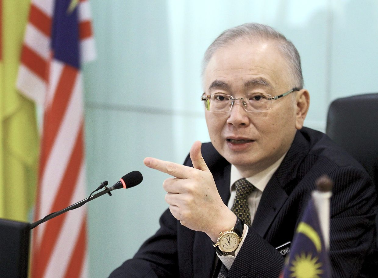 Dr Wee says stereotyping the Chinese as rich can hurt racial harmony. — MOHD SAHAR MISNI/The Star