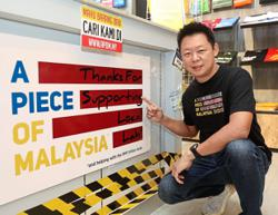 'A Piece of Malaysia' campaign gets warm response