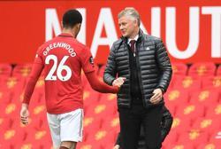 Man Utd's Solskjaer hails 'specialist finisher' Greenwood