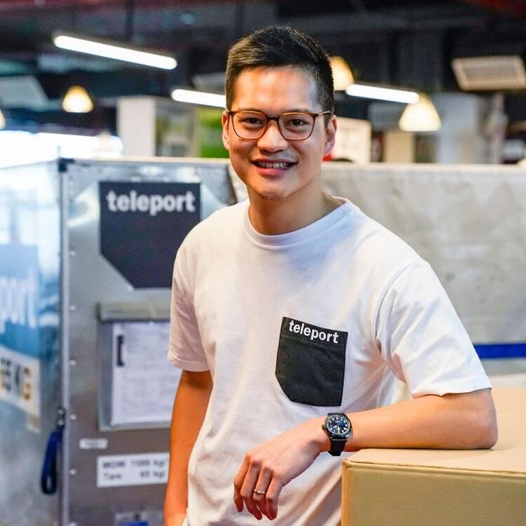 Teleport CEO Pete Chareonwongsak