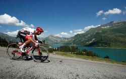 Bernard, Stephens win stage two of virtual Tour de France