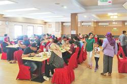 Bruneians flock to eateries with restrictions easing; no virus cases for 59 days