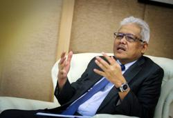 National security foremost on my mind, not politics, says Hamzah
