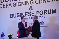 Minister: Indonesia-Australia free trade deal takes effect