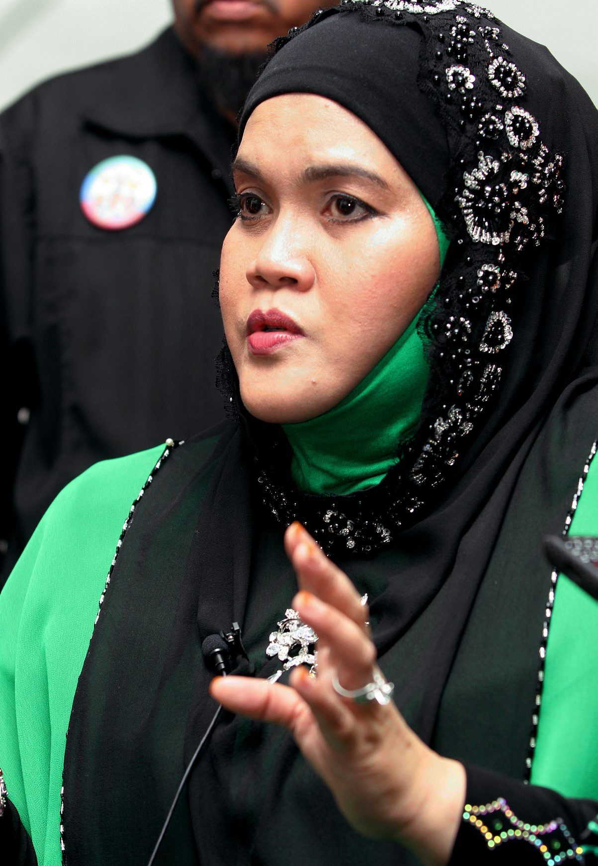 Aishah ran for the Jempol parliamentary seat during GE13. Photo: Filepic