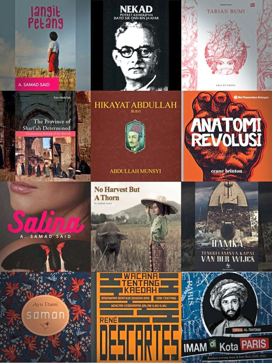 A sample of the literary titles available from Nusantara Audiobooks. Photo: Nusantara Audiobooks