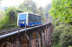 Hill train service suspended on July 14 and 15